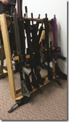 Gun Rack Collapsable