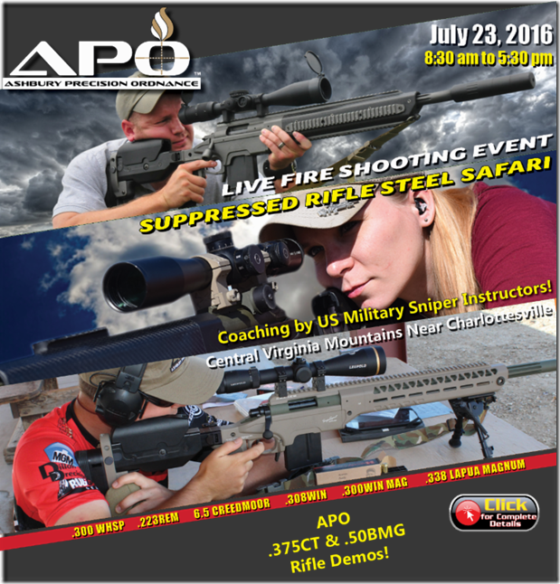APO live fire ad july 23 2016